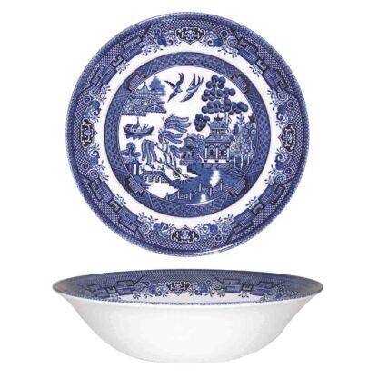 Churchill Blue Willow Salad bowl 24 cm