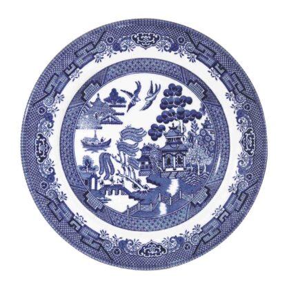 Churchill Blue Willow Salad plate 20 cm