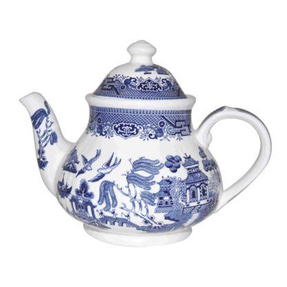 Churchill Blue Willow Teapot 1200 ml