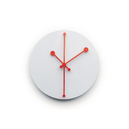 Alessi ABI11 Dotty Clock Orologio da parete bianco