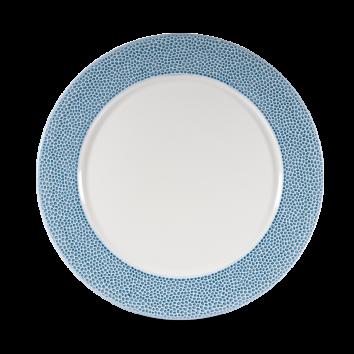 Churchill Isla Spinwash Ocean Blue Presentation Plate 30,5 cm