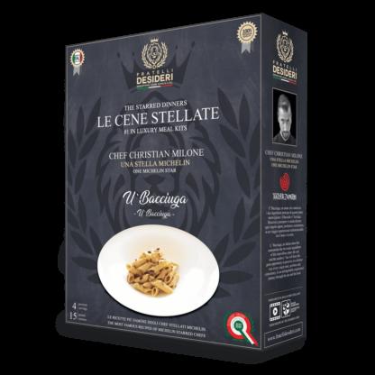 """Fratelli Desideri """"Le Cene Stellate"""" - U' Bacciuga - Christian Milone"""